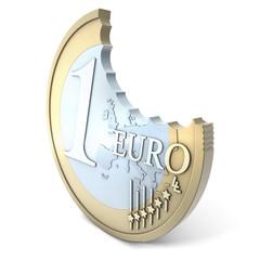Euro angebissen