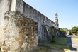 San Juan mission's fortification in San Antonio, Texas, USA