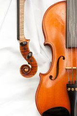 Zwei Geigen Detail 2
