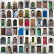 Doors collage