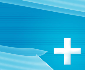 Blue Simple Medical Background