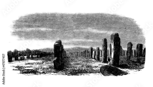 Carnac (Brittany - France) : Alignments Menhirs