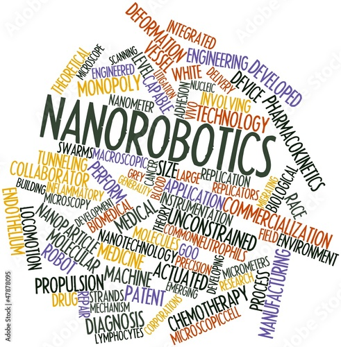 Word cloud for Nanorobotics