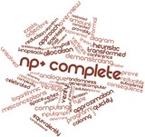Word cloud for NP-complete
