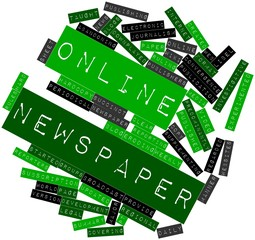 Word cloud for Online newspaper