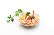 Antipasto di gamberi - Appetizer of shrimps