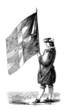 Standard Bearer - Porte-Drapeau - 17th century