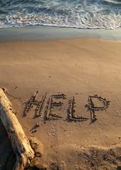 Messaggio di aiuto, richiesta di salvataggio