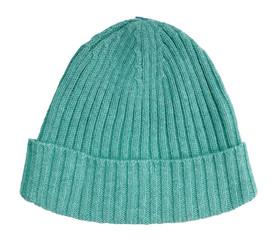 green woolen cap
