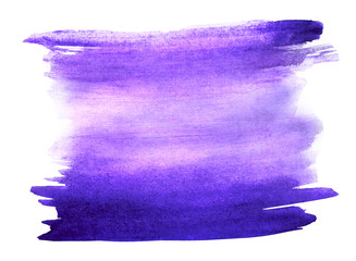 purple table watercolor hand isolated stain raster illustration