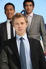 Three corporate guy.
