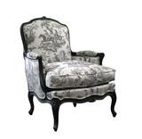 Fototapete Hintergrund - Blau - Möbel / Stuhl / Bett