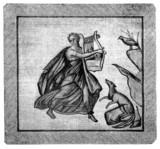 Antique Roman Mosaique poster