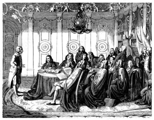Sorbonne 17th century : Student Examination - Examen