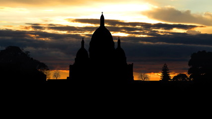 France Sacre Coeur sunrise