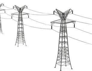 Die Strommasten