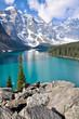 Moraine Lake, Rocky Mountains (Canada)