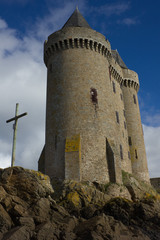 Solidor tower, Saint Malo, France