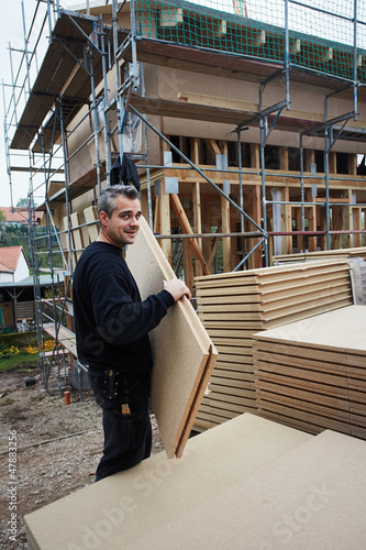 constructing a sustainable building