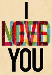 Valentine's Day type text calligraphic