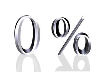 0 Prozent