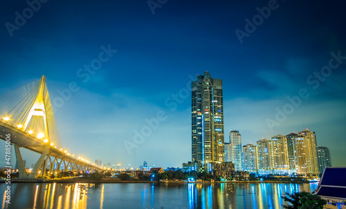 Bangkok River Night