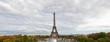 Tour Eiffel in Paris, panoramic View