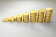 Gold Dollar Coin Graph