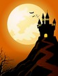 Haunted Castle on Top of a Hill
