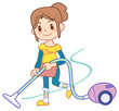 The mom who does housework07