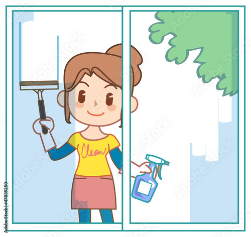 The mom who does housework06