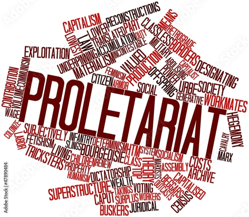 Word cloud for Proletariat