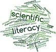 Word cloud for Scientific literacy