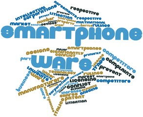 Word cloud for Smartphone wars