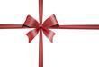 Schleife mit Geschenkband