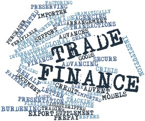 Word cloud for Trade finance