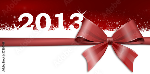 2013 Background with bow