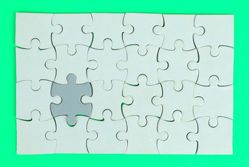 Puzzle Abstract Background