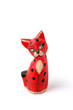 Painted wooden cat