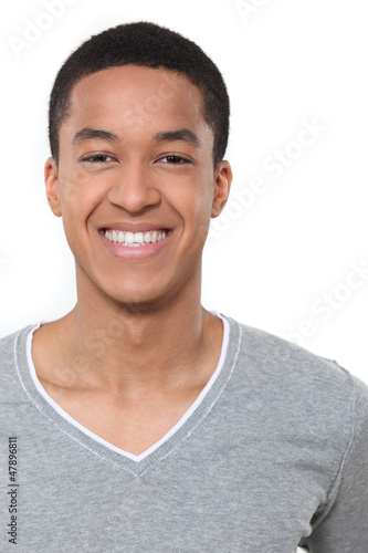 A portrait of an African American man.