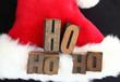 Santa hat ho ho ho