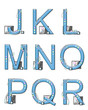 Alphabet Mod Elements J to R