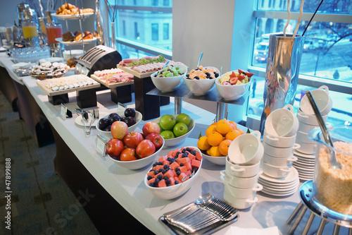 In de dag Buffet, Bar Hotel buffet