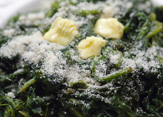 Spinaci al burro - Spinach with butter