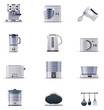 Vector domestic appliances set. Part 2