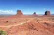 unique landscape of Monument Valley