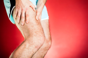 Running injury, leg and muscle pain