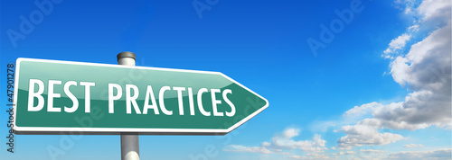signpost BEST PRACTICES