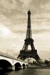 Fototapeten,paris,schwarzweiß,uralt,brücke