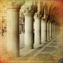 Portique du Palais des Doges, Venise